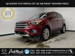 RED 2017 Ford Escape Titanium - Bluetooth, Backup Cam, NAV Primary Listing Photo in Edmonton AB