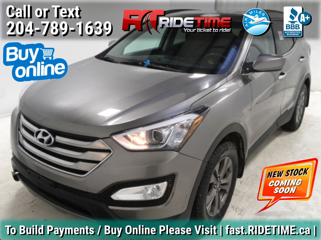 Gray[Platinum Graphite Metallic] 2015 Hyundai Santa Fe Sport Base - Bluetooth, Heated Seats, Alloys