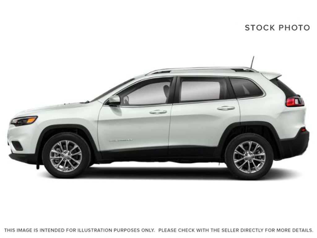 White[Bright White] 2021 Jeep Cherokee Left Side Photo in Yarmouth NS