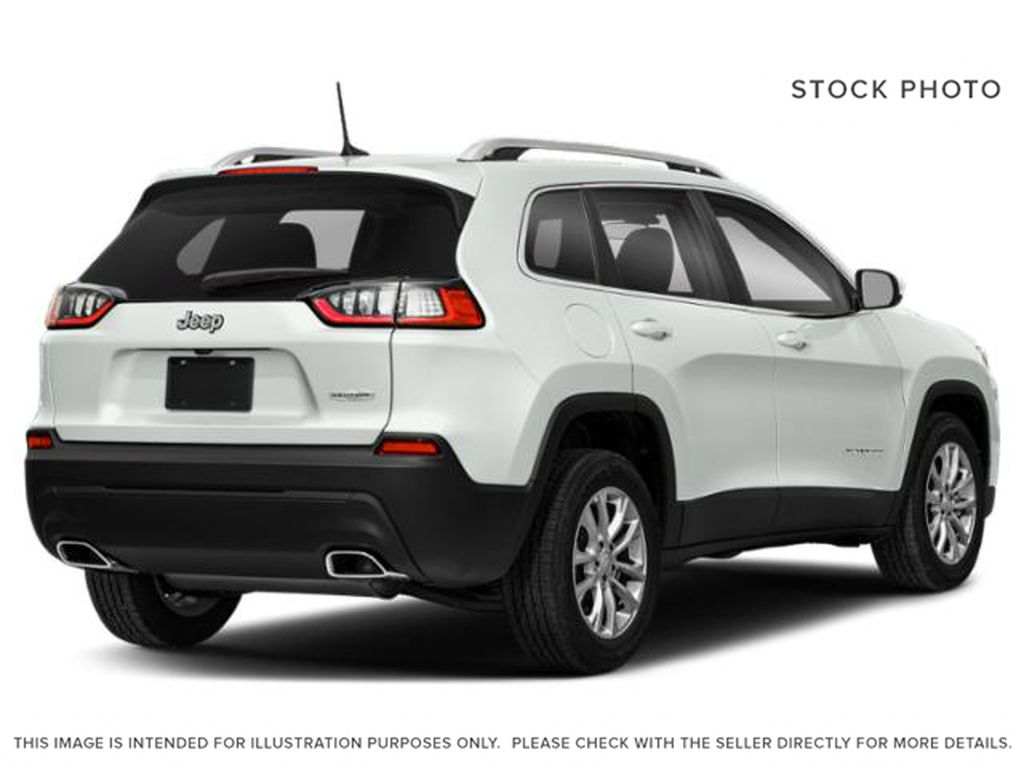 White[Bright White] 2021 Jeep Cherokee Right Rear Corner Photo in Yarmouth NS