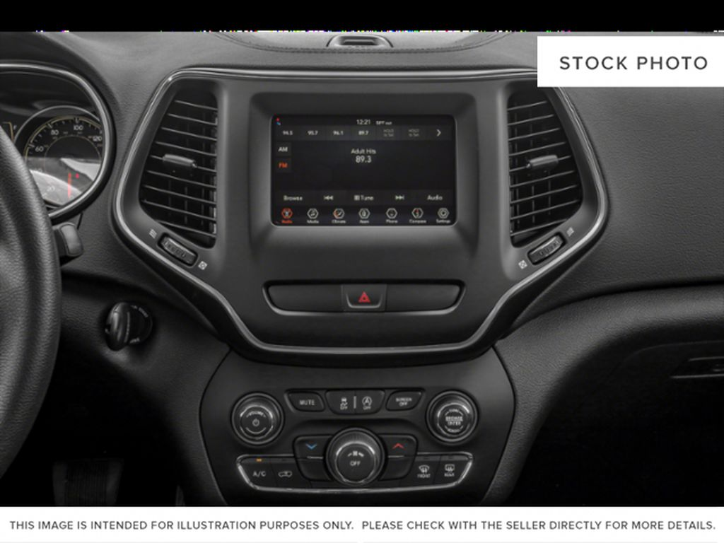 White[Bright White] 2021 Jeep Cherokee Radio Controls Closeup Photo in Yarmouth NS