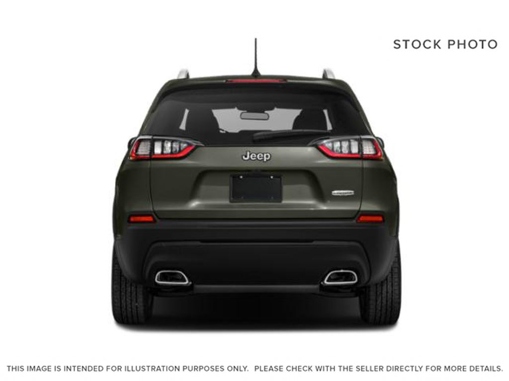 White[Bright White] 2021 Jeep Cherokee Rear of Vehicle Photo in Yarmouth NS