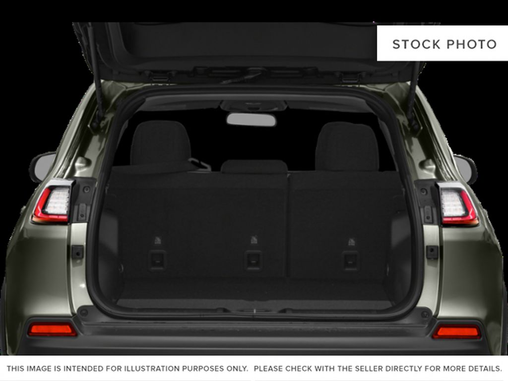 White[Bright White] 2021 Jeep Cherokee Trunk / Cargo Area Photo in Yarmouth NS