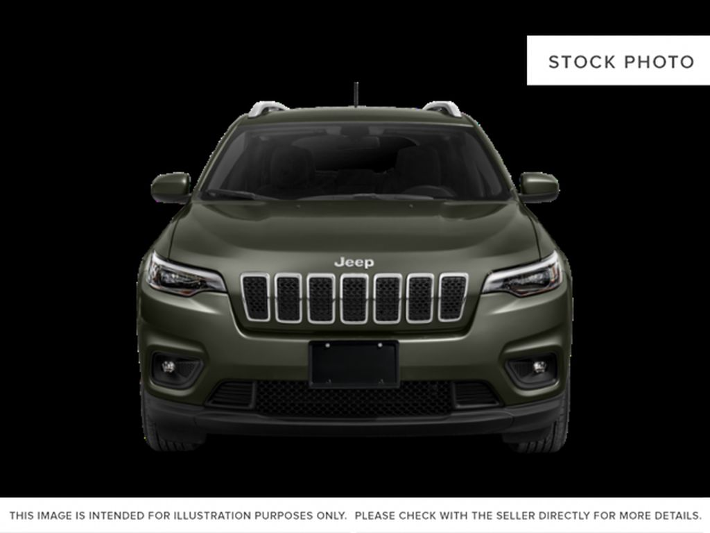 White[Bright White] 2021 Jeep Cherokee Front Vehicle Photo in Yarmouth NS