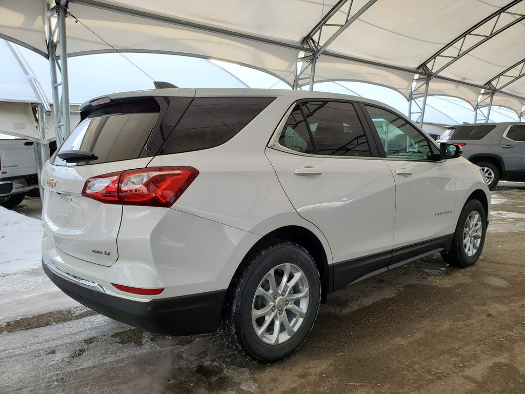White 2021 Chevrolet Equinox Right Rear Interior Door Panel Photo in Airdrie AB