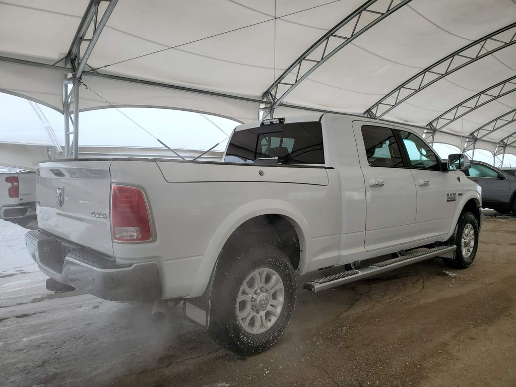 White 2018 Ram 3500 Right Side Rear Seat  Photo in Airdrie AB