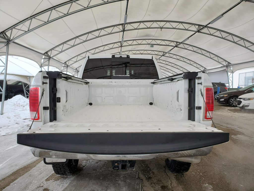 White 2018 Ram 3500 Right Rear Interior Door Panel Photo in Airdrie AB