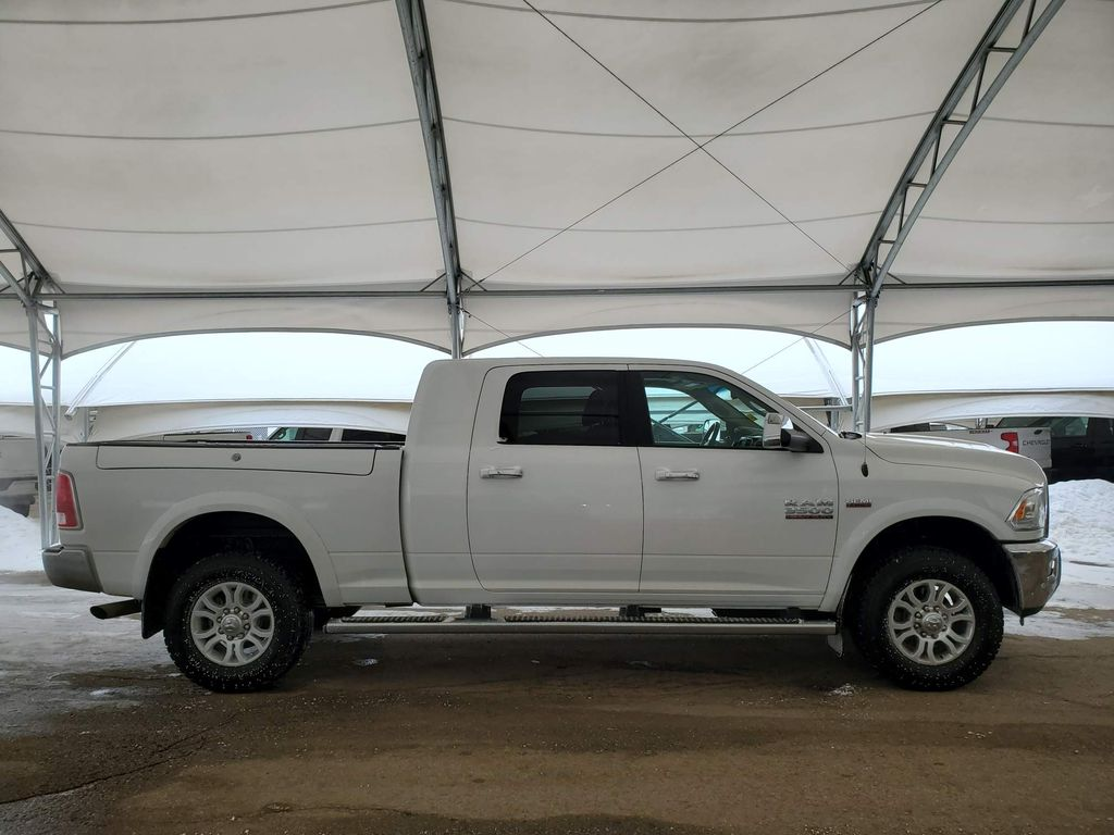White 2018 Ram 3500 Right Front Interior Door Panel Photo in Airdrie AB