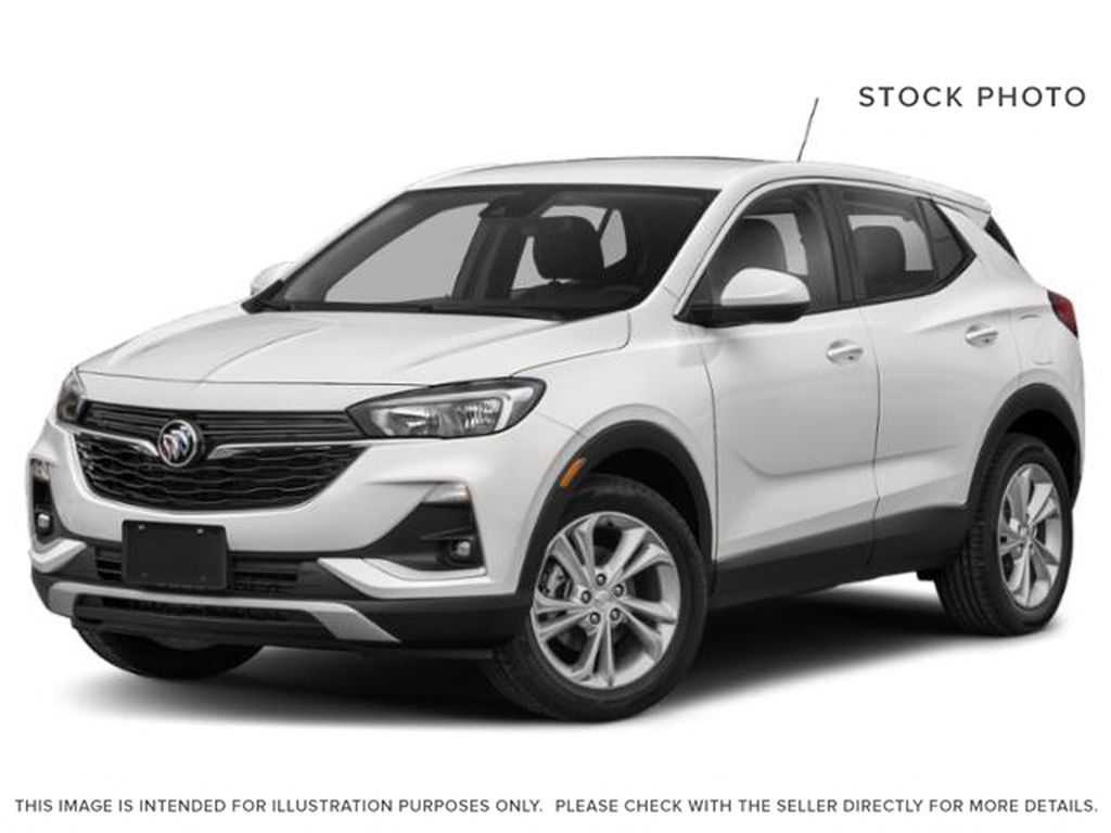 Summit White 2021 Buick Encore GX