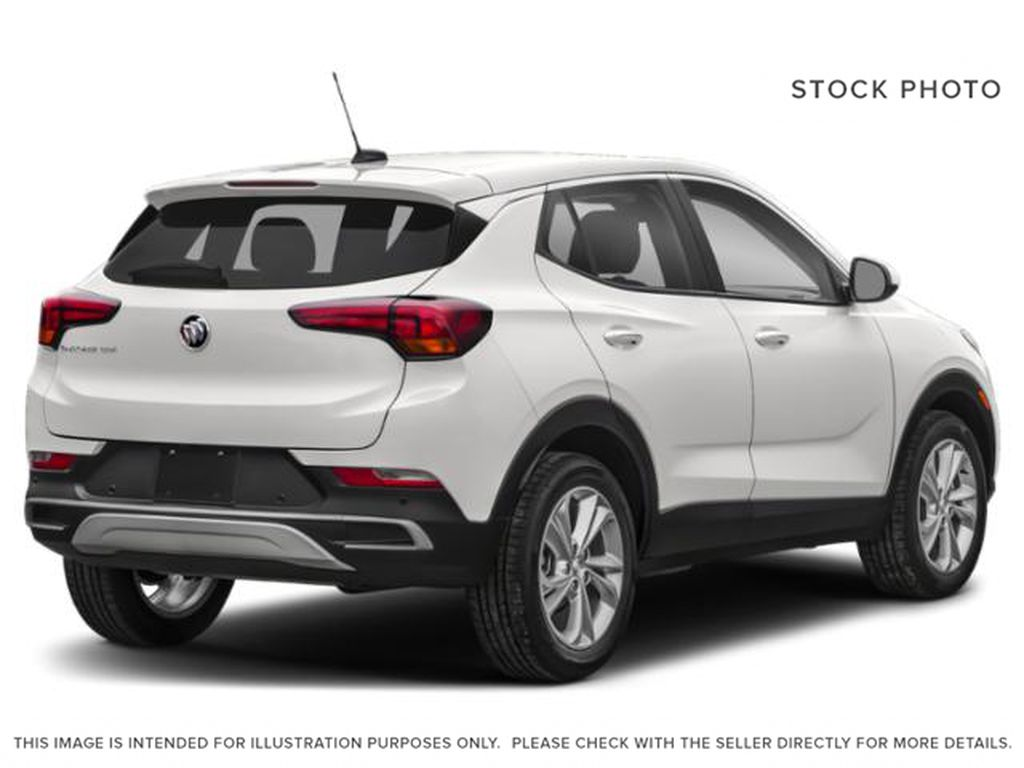 Summit White 2021 Buick Encore GX Right Rear Corner Photo in Oshawa ON