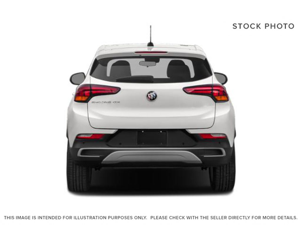 Summit White 2021 Buick Encore GX Rear of Vehicle Photo in Oshawa ON