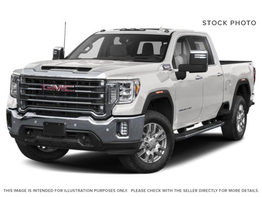 Summit White 2021 GMC Sierra 3500HD