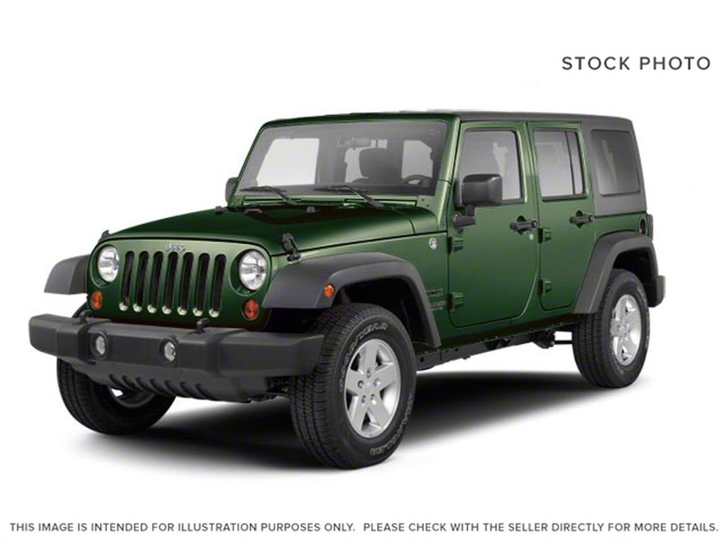 Green[Natural Green Pearl] 2012 Jeep Wrangler Unlimited
