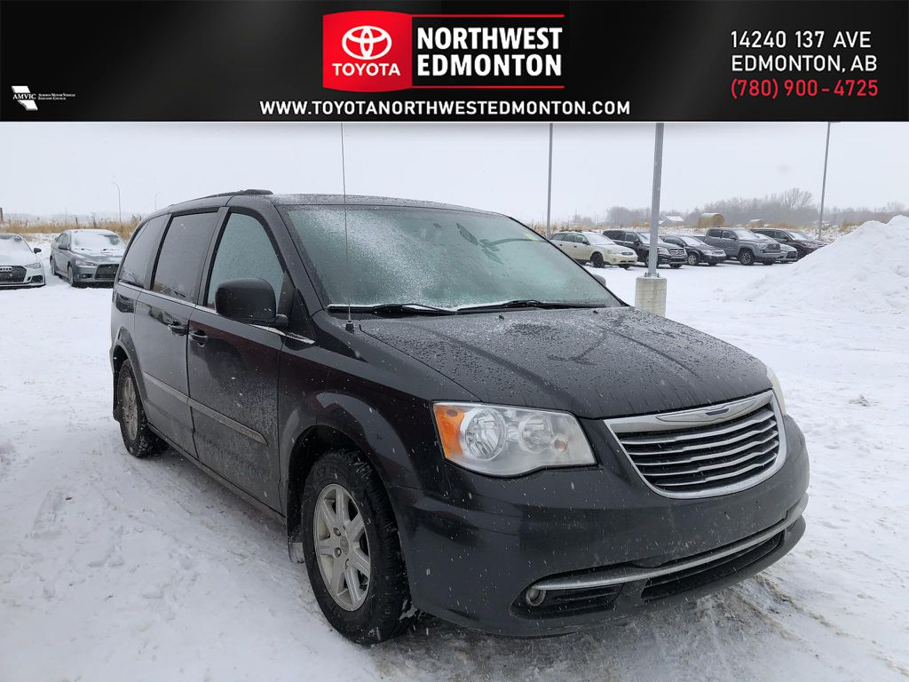 Grey 2011 Chrysler Town & Country Touring