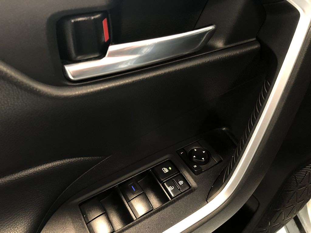 Silver 2020 Toyota RAV4 Hybrid XLE   Extended Warranty Included Fourth Row  Seat  Photo in Edmonton AB