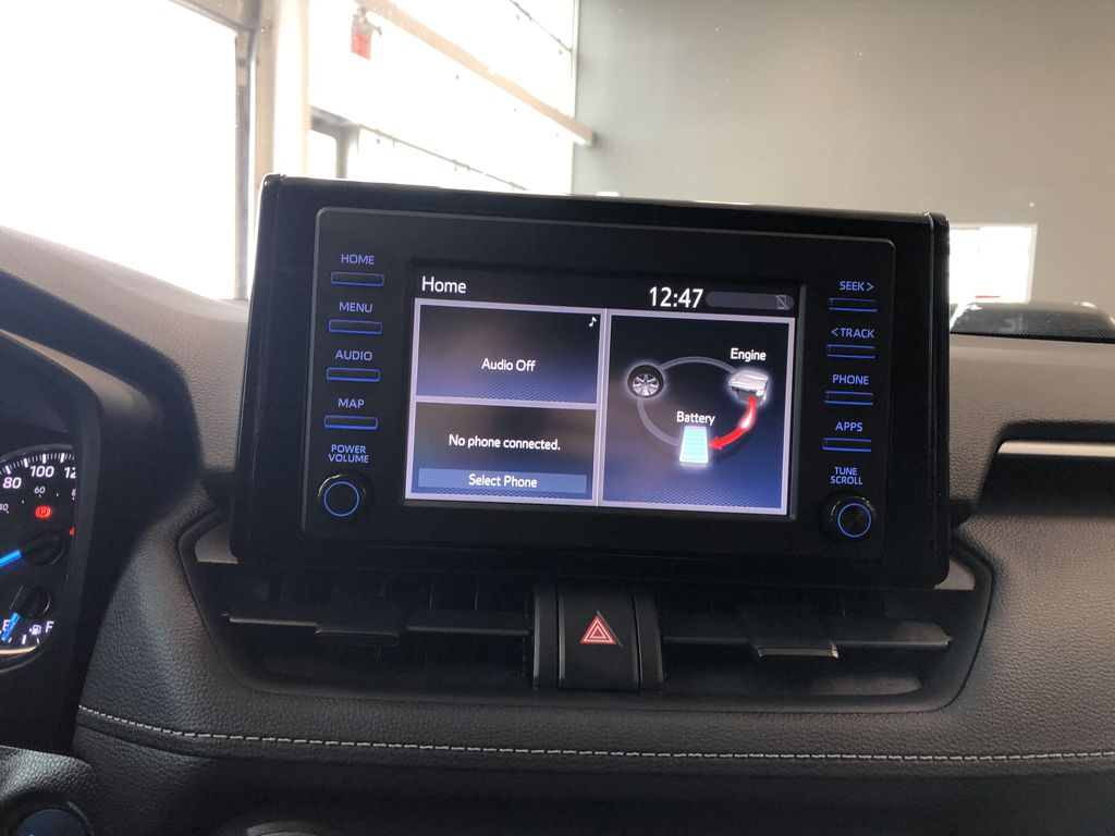 Silver 2020 Toyota RAV4 Hybrid XLE   Extended Warranty Included Front Vehicle Photo in Edmonton AB