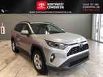 Silver 2020 Toyota RAV4 Hybrid XLE   Extended Warranty Included Primary Listing Photo in Edmonton AB