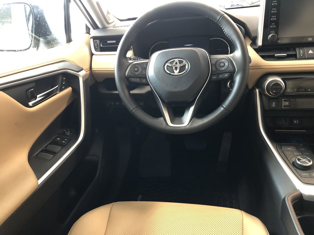 Blizzard Pearl 2021 Toyota RAV4 Limited Third Row Seat or Additional  Photo in Edmonton AB
