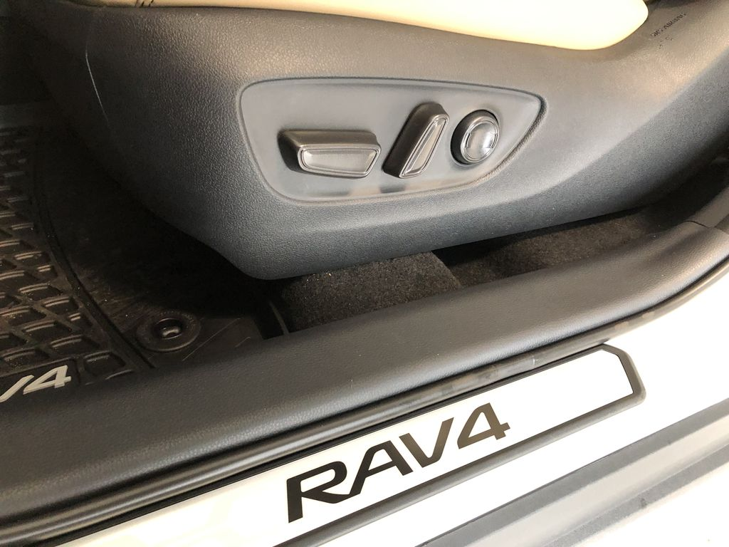 Blizzard Pearl 2021 Toyota RAV4 Limited Right Side Front Seat  Photo in Edmonton AB
