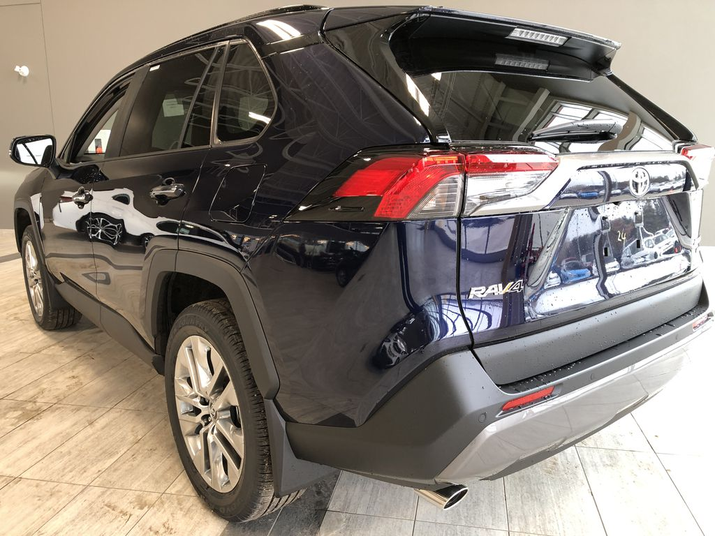 Blueprint 2021 Toyota RAV4 Limited Left Rear Corner Photo in Edmonton AB