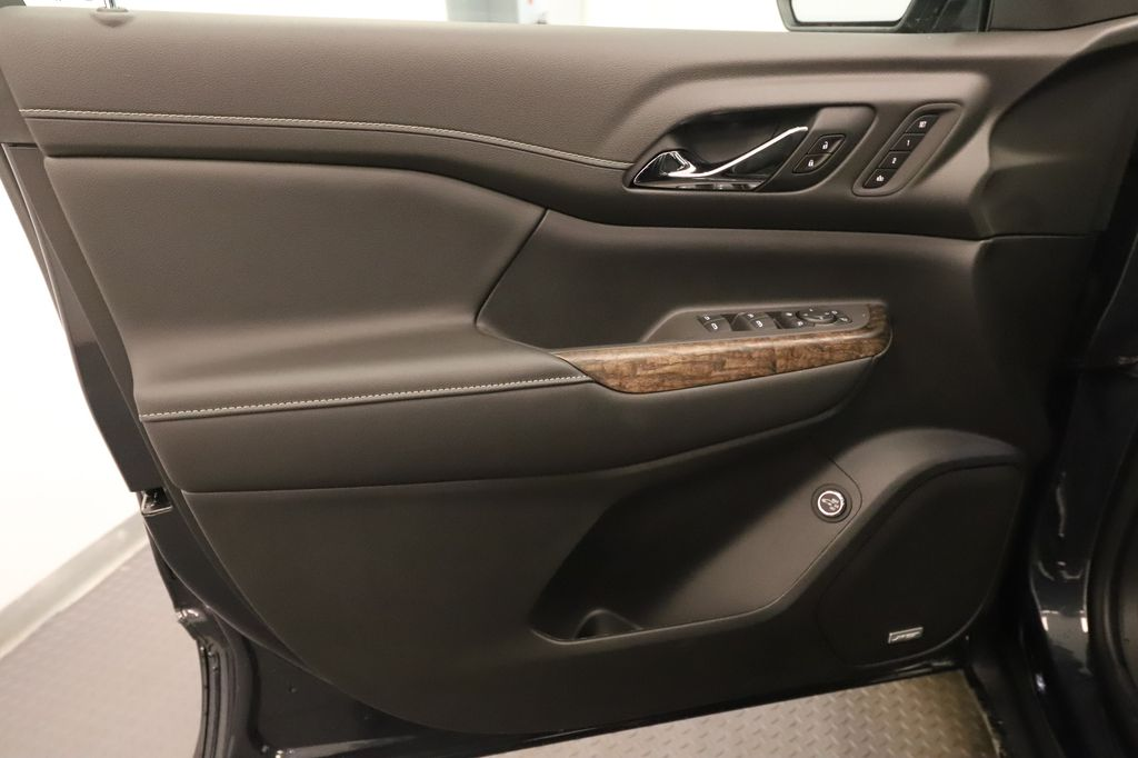 Dark Grey 2021 GMC Acadia Left Rear Interior Door Panel Photo in Lethbridge AB