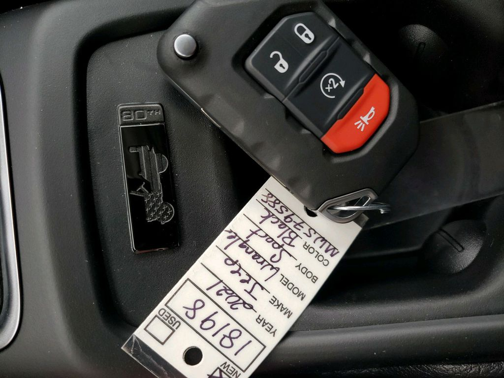 Black 2021 Jeep Wrangler Center Console Photo in Fort Macleod AB