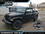 Black 2021 Jeep Wrangler Primary Listing Photo in Fort Macleod AB