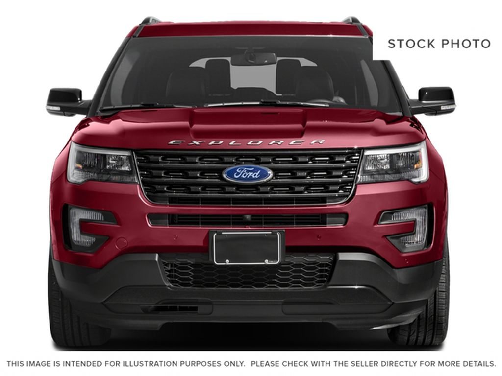 Silver[Ingot Silver Metallic] 2016 Ford Explorer Front Vehicle Photo in Fort Macleod AB