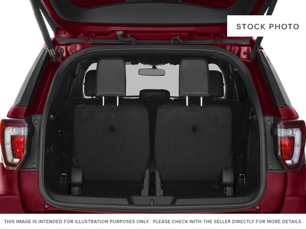 Silver[Ingot Silver Metallic] 2016 Ford Explorer Trunk / Cargo Area Photo in Fort Macleod AB