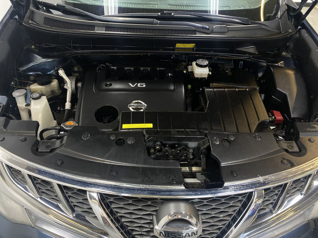 BLUE 2013 Nissan Murano SL - Backup Camera, Bluetooth, Heated Front Seats Engine Compartment Photo in Edmonton AB