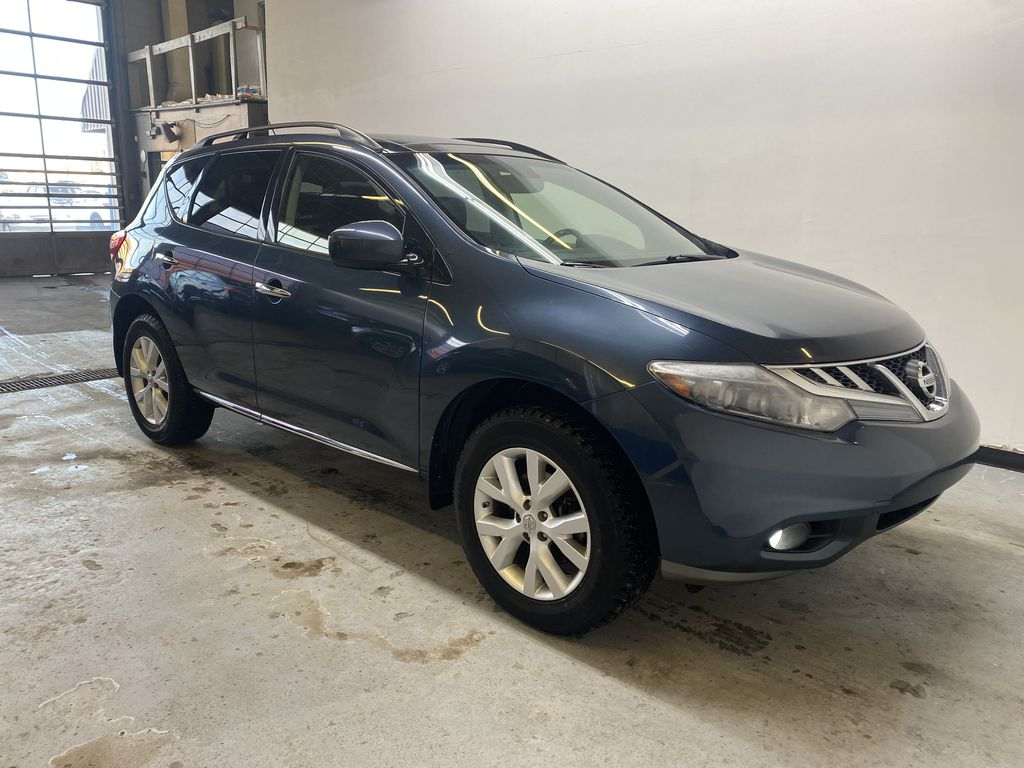 BLUE 2013 Nissan Murano SL - Backup Camera, Bluetooth, Heated Front Seats Right Front Corner Photo in Edmonton AB