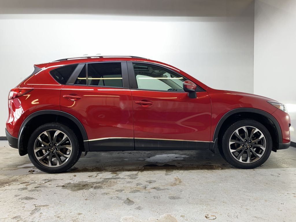 RED 2016 Mazda CX-5 GT AWD - Backup Camera, Bluetooth, NAV Right Side Photo in Edmonton AB