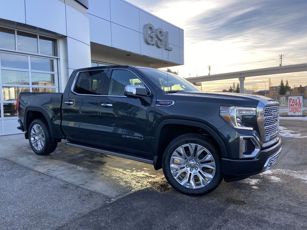 Green[Hunter Metallic] 2021 GMC Sierra 1500 Denali