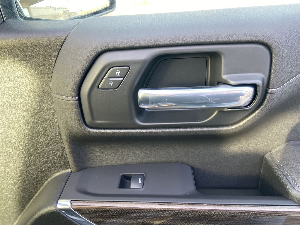 Gray[Satin Steel Metallic] 2021 Chevrolet Silverado 1500 LT Trail Boss Passenger Front Door Controls Photo in Calgary AB