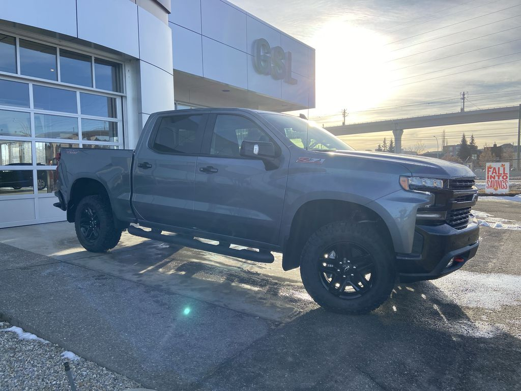 Gray[Satin Steel Metallic] 2021 Chevrolet Silverado 1500 LT Trail Boss