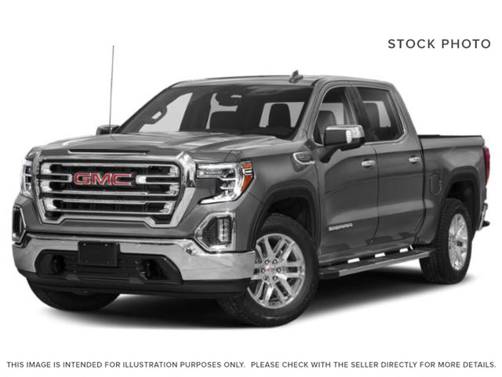 Gray[Satin Steel Metallic] 2021 GMC Sierra 1500 SLT