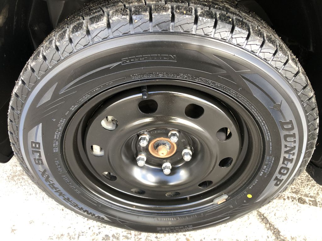 Black[Pitch Black] 2015 Dodge Journey R/T Left Front Rim and Tire Photo in Canmore AB