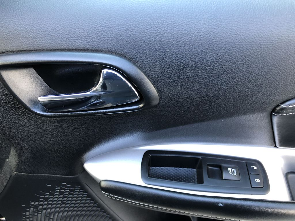 Black[Pitch Black] 2015 Dodge Journey R/T Passenger Front Door Controls Photo in Canmore AB