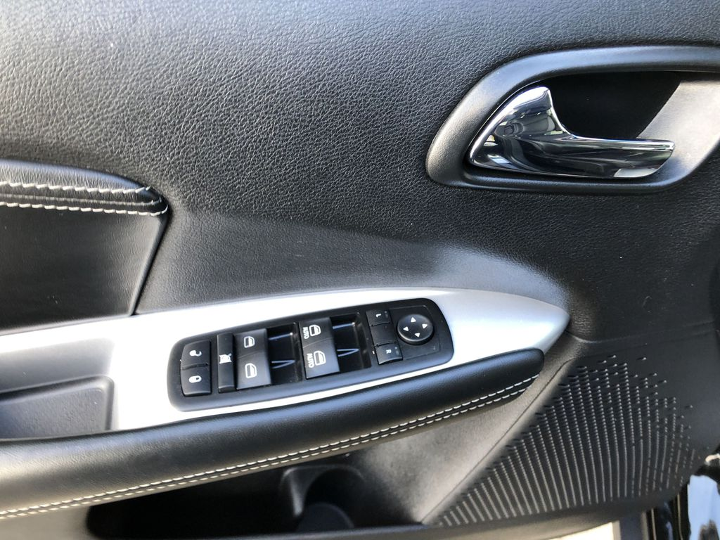 Black[Pitch Black] 2015 Dodge Journey R/T  Driver's Side Door Controls Photo in Canmore AB
