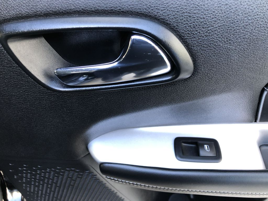 Black[Pitch Black] 2015 Dodge Journey R/T Passenger Rear Door Controls Photo in Canmore AB