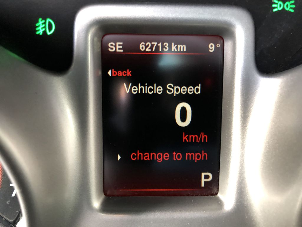 Black[Pitch Black] 2015 Dodge Journey R/T Odometer Photo in Canmore AB