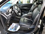 Black[Pitch Black] 2015 Dodge Journey R/T Left Front Interior Photo in Canmore AB