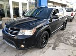 Black[Pitch Black] 2015 Dodge Journey R/T Left Front Corner Photo in Canmore AB