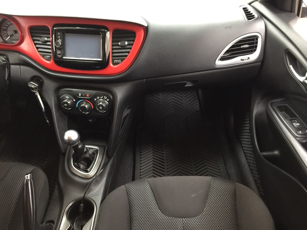 White[Bright White Clearcoat] 2014 Dodge Dart Right Front Seat Photo in Sherwood Park AB