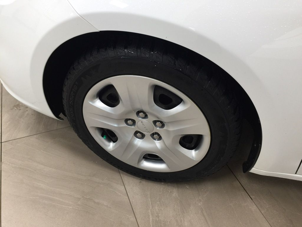 White[Bright White Clearcoat] 2014 Dodge Dart Left Front Rim and Tire Photo in Sherwood Park AB
