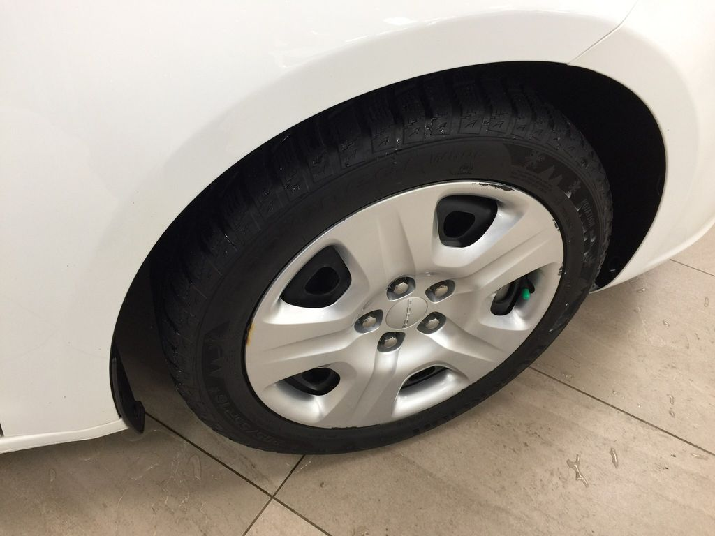 White[Bright White Clearcoat] 2014 Dodge Dart Right Front Rim and Tire Photo in Sherwood Park AB