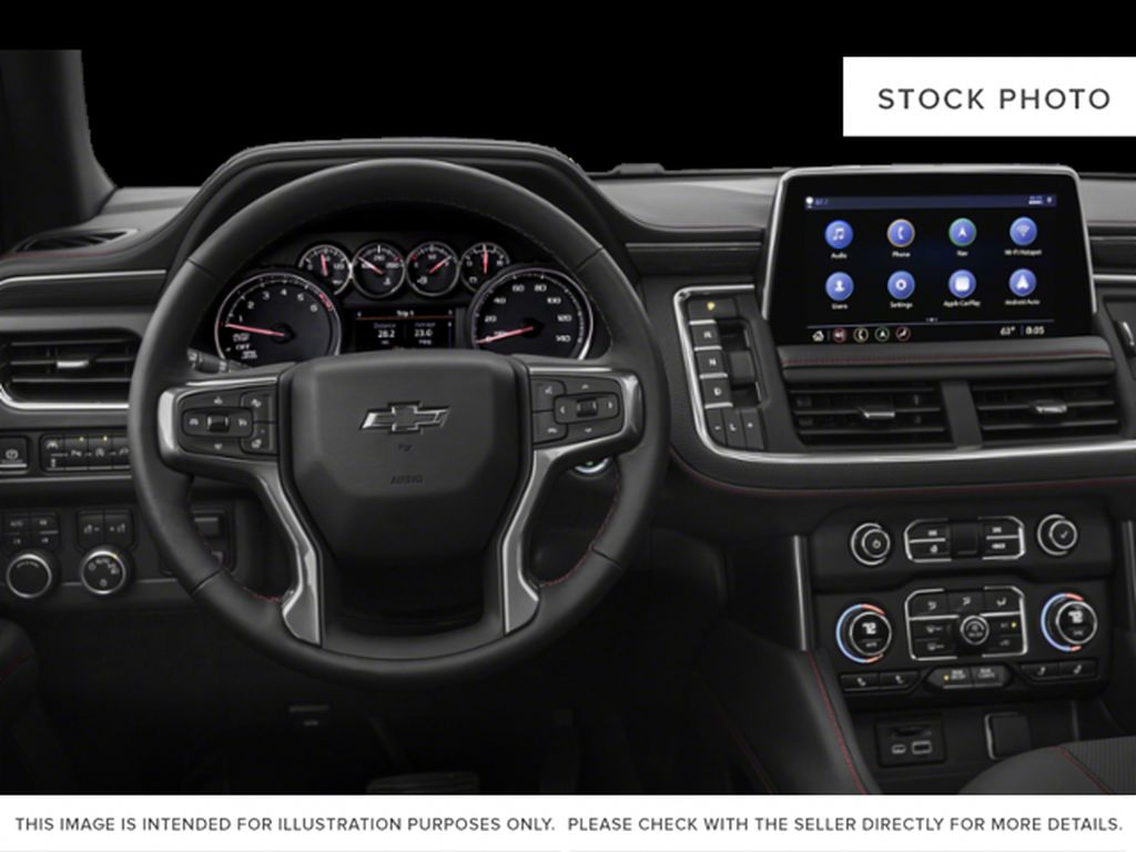 Gray[Satin Steel Metallic] 2021 Chevrolet Tahoe Central Dash Options Photo in Edmonton AB