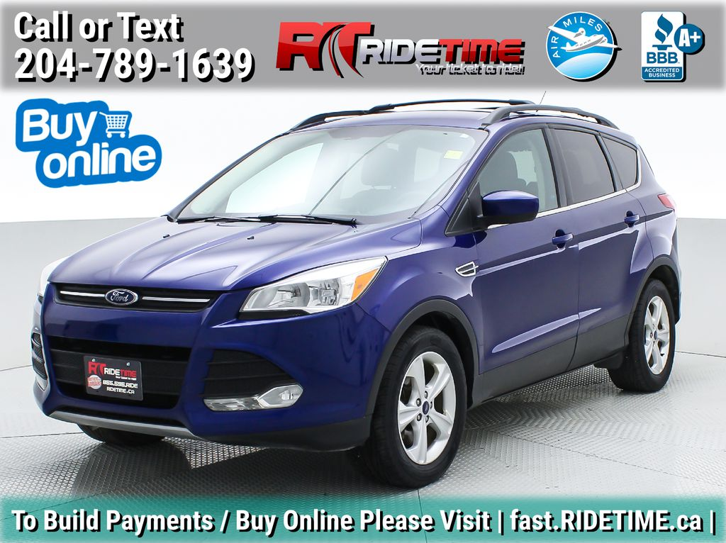 Blue[Deep Impact Blue] 2013 Ford Escape SE 4WD - 2.0L EcoBoost, MyFord Touch, Heated Seats