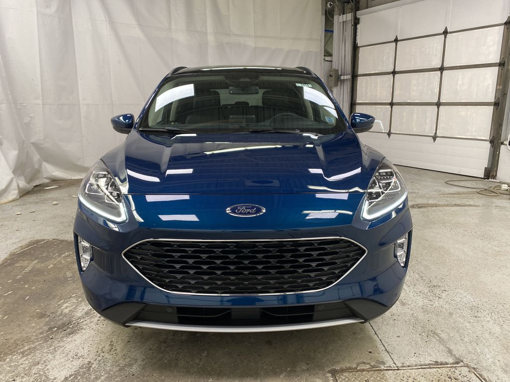 Green[Dark Persian Green Metallic] 2020 Ford Escape Front Vehicle Photo in Dartmouth NS