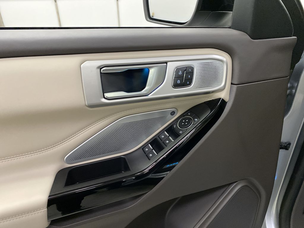 Silver[Iconic Silver Metallic] 2021 Ford Explorer  Driver's Side Door Controls Photo in Dartmouth NS
